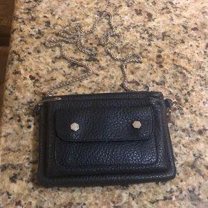 Street level Black mini cross body purse
